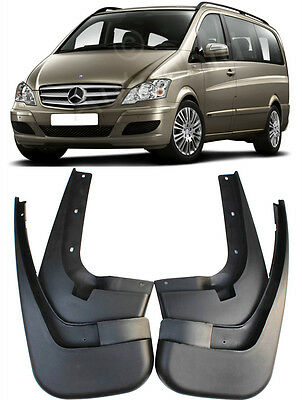 OEM Splash Guards Mud Guards Mud Flaps For 12-2015 Mercedes Benz Vito Viano W639