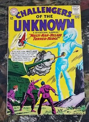 DC Challengers of the Unknown #30 Multi-Man Villain Turned Hero Comic Book CS