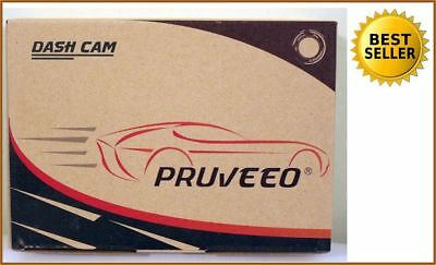 NEW Pruveeo C2 Full HD Front and Rear Dual Dash Cam Wide Angle 100% RATED SELLER