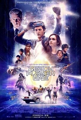 """Ready Player One (2018) 11""""x17"""" Authentic Movie Collector's Mini Poster!!"""