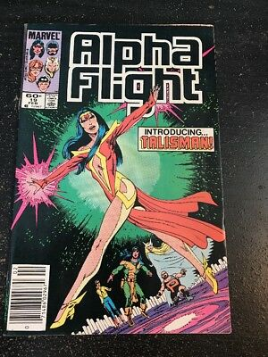 Alpha Flight#19 Awesome Condition 8.0(1985) 1st Talisman App, Byrne Art!!