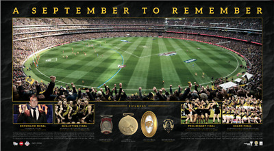 **New Release** Richmond Tigers – September to Remember Panoramic Unframed