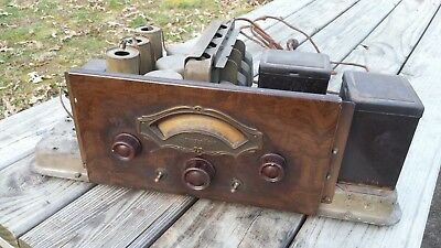 Vintage ATWATER KENT Type L CHASSIS (Chassis Only) from Model 70 Radio POWERS UP