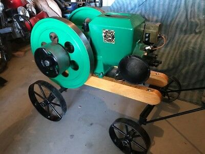 Stover, Model CT 3 1/2hp, Hit & Miss Gasoline Engine