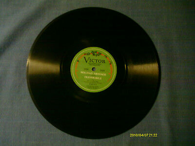Rare Victor record/1928 Holiday Message from Oldsmobile/ Reuter/ Record#: 48613