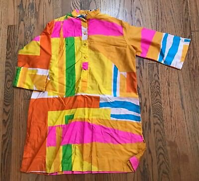 Katherin Ogust Vintage 70's Tunic Top One Size