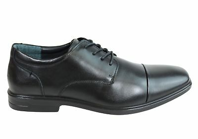New Scholl Orthaheel Ashton Mens Leather Comfort Supportive Dress Shoes