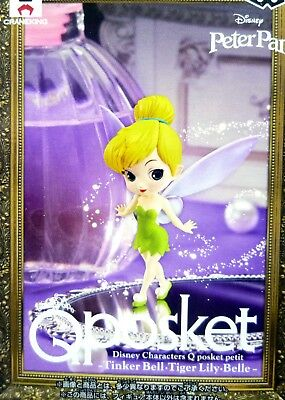 Q posket petit Disney Characters Tinker Bell / Peter Pan / 100% Authentic!