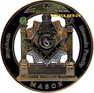 Masonic Family Nayelesis Master Mason Large Lapel Pin 01