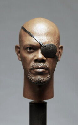 1/6 The Avengers Nick Fury Leather Coat Set For Hot Toys Figure Collection
