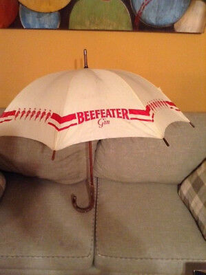 Vintage Beefeater Gin Promotional Umbrella