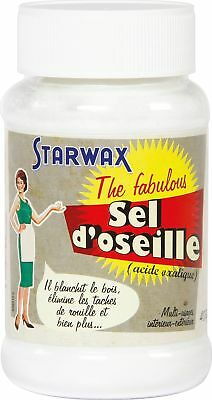 Sel d'oseille ou acide Oxalique Starwax The Fabulous - 400 g