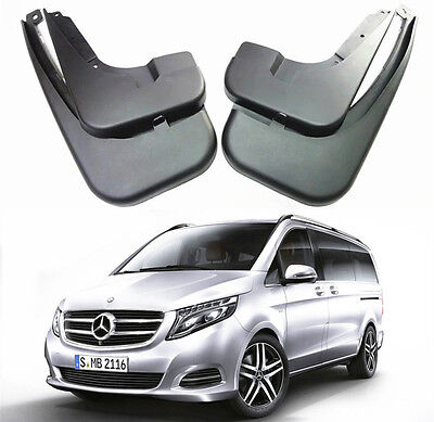 OEM Splash Guards Mud Flaps For 2016-2018 Mercedes Benz V Class W447 V220d V250