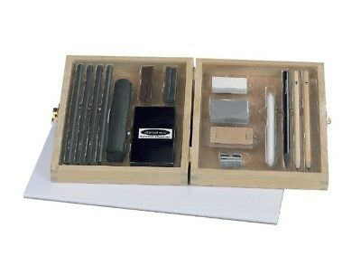 Charcoal 26 Piece Set For flat & high - contrast drawing writing & sketching box