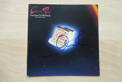 "Chris Rea Autogramm signed CD Booklet ""The Road To Hell Part 2"""