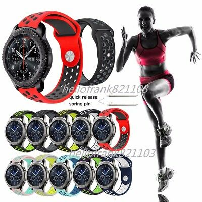 Silicone Sport Band Wrist Watch Strap For Samsung Gear S2 S3 Classic / Frontier