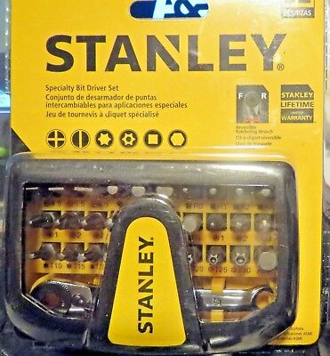 Stanley Specialty Bit Driver Set 32 Pc.