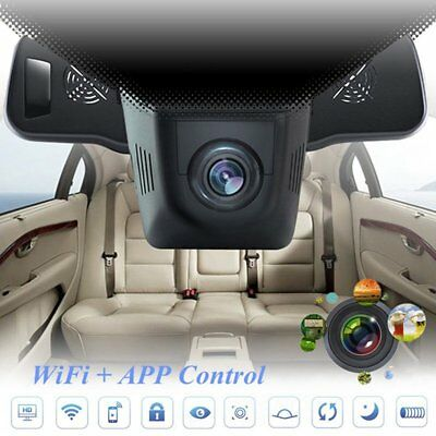 1080P HD Auto Kamera Dashcam WIFI KFZ Video Camera Recorder Überwachung G-Sensor