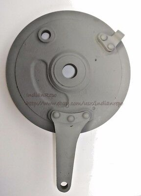 BRAKE BACKING PLATE for INDIAN MOTORCYCLE, steel; Bare Finish;