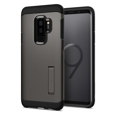 Spigen® [Tough Armor] TPU Heavy Duty Kickstand Cover Case for Galaxy S9/S9+