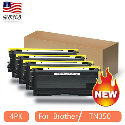 4* Toner Cartridge for Brother TN2025 HL2040 MFC-7220 MFC-7225N FAX2820 DCP-7020