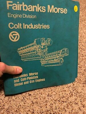 Fairbanks Morse 38F5-1/4 Opposed Piston Diesel Engine Service and Parts Manual