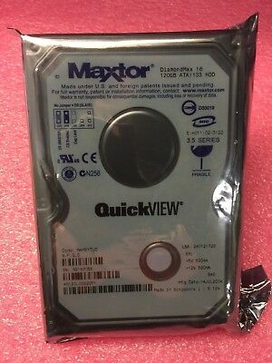 Lot Of 20 Maxtor DiamondMax 16 4R120L00320P1 120GB IDE HDD