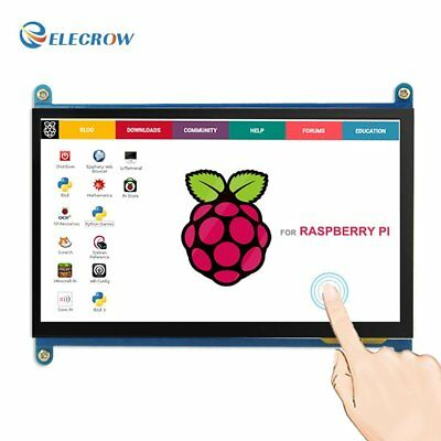 Elecrow HDMI TFT LCD Display Monitor 7 Inch 1024X600 HD Screen with Touch for Pi