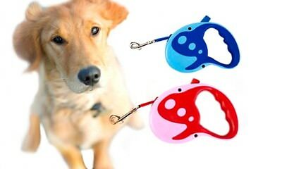 Auto-Retractable Dog Lead, 3m or 5m Leash, Comfort Grip Handle Canine Harness