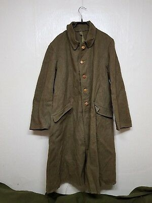 RARE 1940'S WW2 Vintage Japan Army Winter Wool Coat Parka Military Clothes