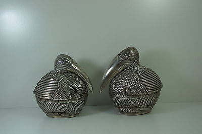 Antique Islam-Ottoman Persia-Iran-Irak-Turkey Pelican Silver forSugar-Tea-Coffee