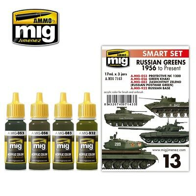 RUSSIAN GREENS - 1956 TO PRESENT Ammo by Mig