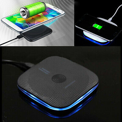 TX Qi Wireless Fast Charger Charging Pad for Samsung Galaxy Note 8 S8 i Phone X