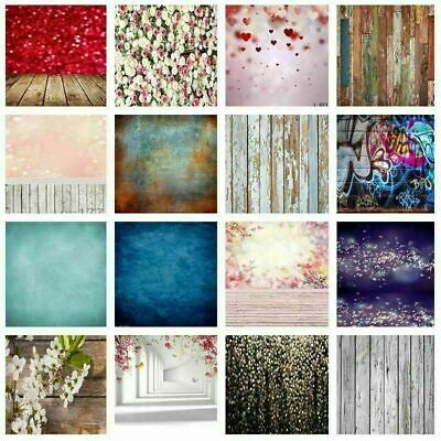 5x7ft 3x5ft Vintage Photography Background Glitter Heart Wood Wall Backdrop Prop