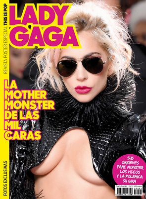 This is Pop Magazine/Poster Spain Issue 01 - Lady Gaga 32 full pages