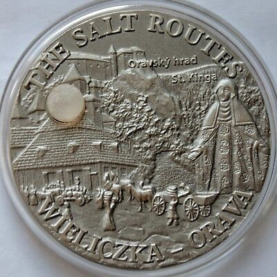 Malawi 20 Kwacha 2009, The Salt Routes Wieliczka, Orawa, Salt Crystal