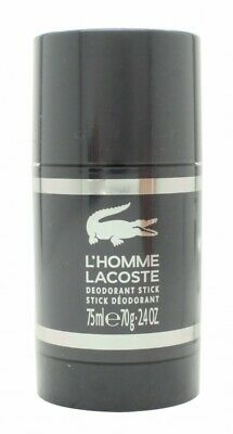Lacoste L'homme Deodorant Stick - Men's For Him. New. Free Shipping