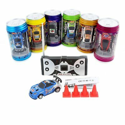 Coke Can Mini Super Speed RC Radio Remote Control Micro Racing Car Toys Gift