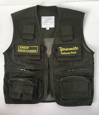 Junior Park Ranger Vest Kids Sz L
