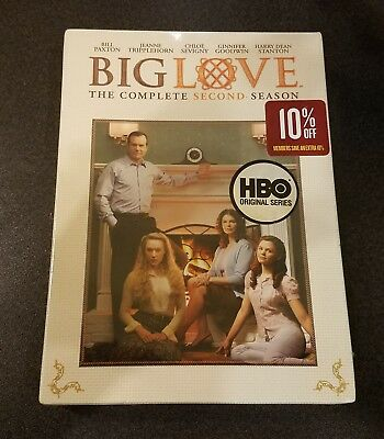 Big Love: The Complete Second Season (DVD) 2 Bill Paxton HBO tv show series NEW
