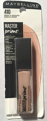 Maybelline Master Prime Eyeshadow Base 410 Prime & Smooth--BUY 4 ITEMS FREE SHIP