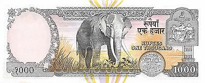 Nepal  1000  Rupees  ND. 2000  P 44 Uncirculated Banknote