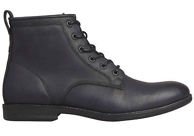 New Windsor Smith Krab Mens Comfortable Lace Up Leather Dress Boots