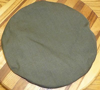 Us Military Crown, Service Cap Poly/wool Gabardine Size 7 Excellent Condition