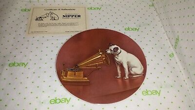 Nipper Collector Plate His Master's Voice Rca 1980