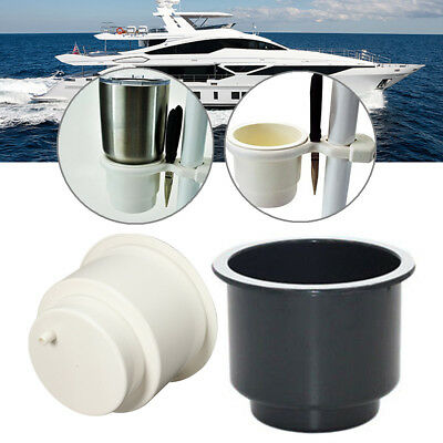 Marine Boat RV Car Cup Drink Can Water Bottle Holder With Water Outlet AU