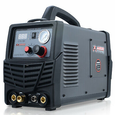 Amico CTS-180 3-in-1 40 Amp Plasma Cutter 180A TIG-Torch 160A Stick Welder New