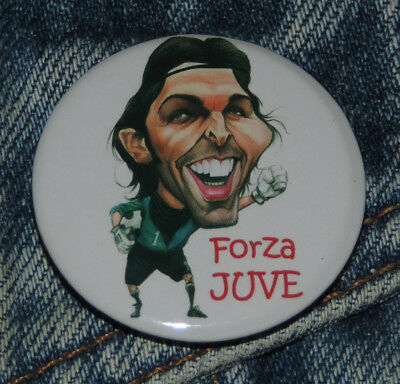 Pin Button Badge Ø38mm Caricature de Gianluigi Buffon