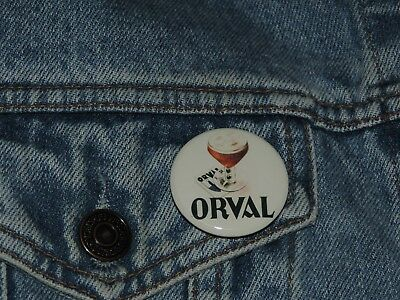 Pin Button Badge Ø38mm  ORVAL (bière)