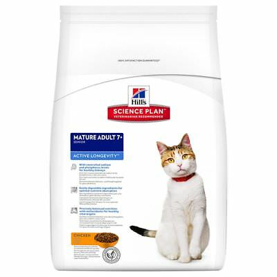 Hill's Hills Science Plan Mature Cat 7+ Active Longevity 5kg 10kg 20kg